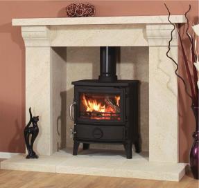 newman medistone barosa fireplace. Black Bedroom Furniture Sets. Home Design Ideas